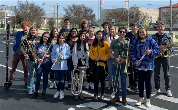 Marble Falls High School Band and Color Guard score big at weekend competitions""