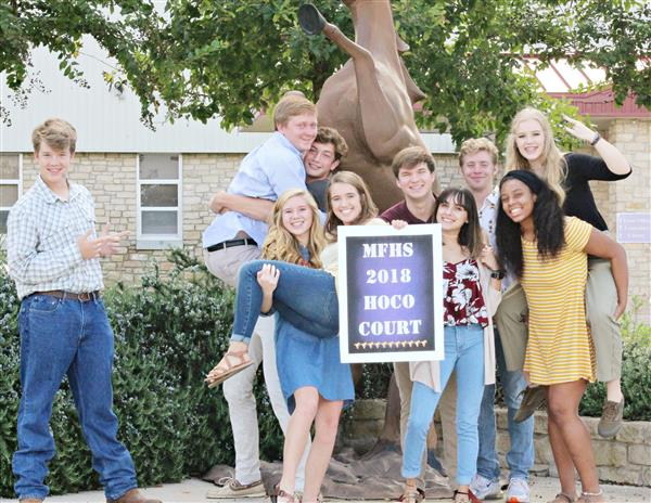 2018 Marble Falls High School - Homecoming Court!