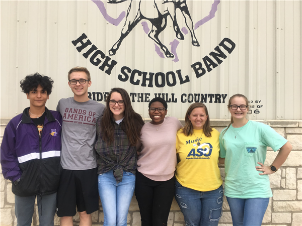 Mustang Band Qualifies Six for Area Competition