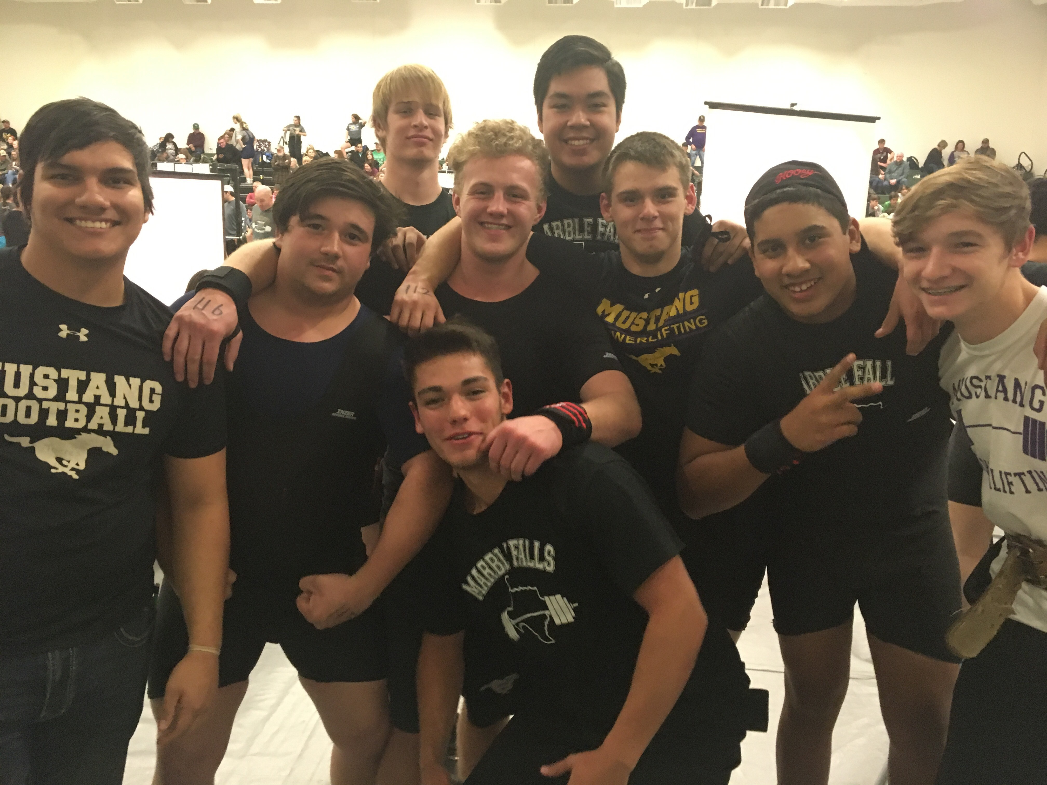 Powerlifting boys